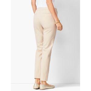 NWOT Talbots Beige Khaki Ankle Dress Pants Sz 18W